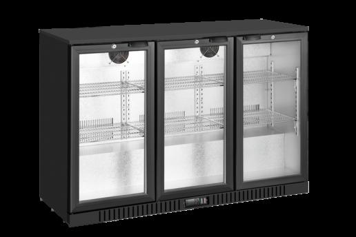 3 door bar fridge