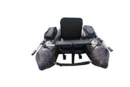 camo belly boat perfect for duck shooting or fishing