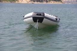 Aluminium Hull inflatable boat 3.5m