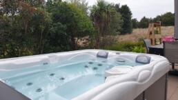 Customer photo of our Indulgence model spa pool